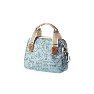 Basil Boheme City Bag- handlebar bag- bicycle shoulder bag- bicycle handbag- 7L- green