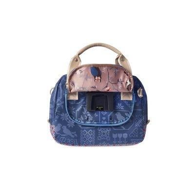 Basil Boheme City Bag - handlebar bag - bicycle shoulder bag - 7L- blue
