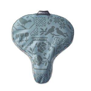 Basil Boheme Saddle Cover - sattelbezug - grun