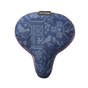 Basil Boheme Saddle Cover - sattelbezug - blau