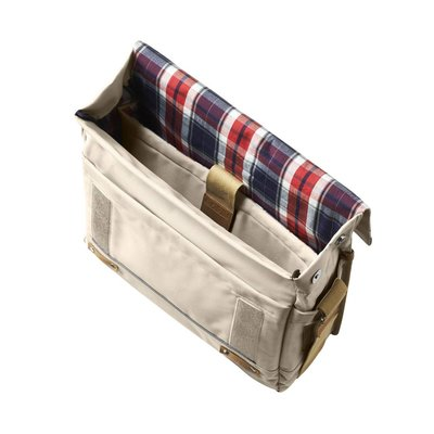 Basil Portland Messenger - bike shoulder bag - laptop bag - 20L - cream