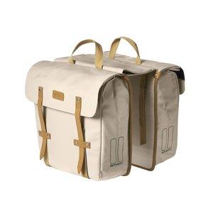 Portland Slimfit Double Bag - Crème