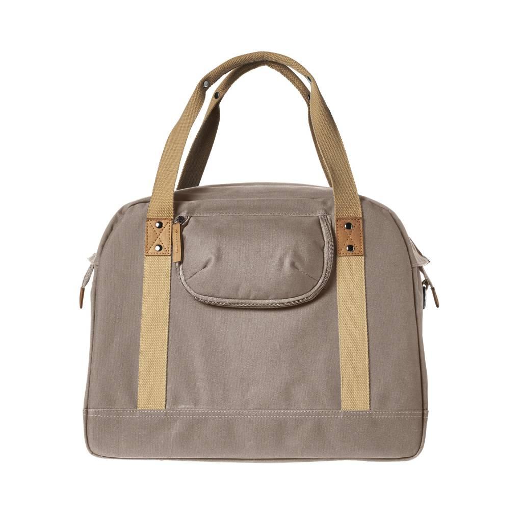 bc2ee433100 Basil Portland Business Bag – laptop bike bag - bike shoulder bag - 19L -  taupe