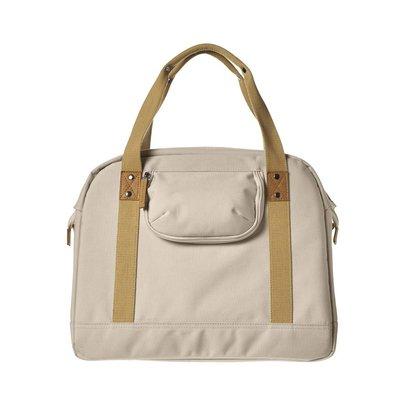 Basil Portland Business Bag - laptopfahrradtasche - fahrradschultertasche - 19L - Creme