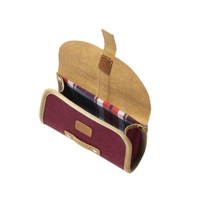 Basil Portland - saddle bag - 0,5 liter - red