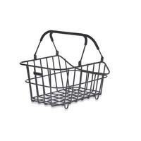 Cento Alu Multi System bicycle basket - black