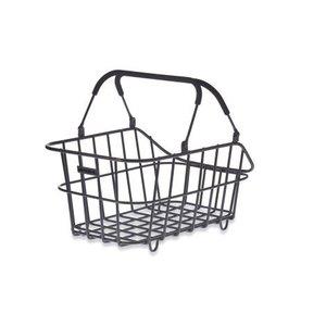 Basil Cento Alu Multi System - bicycle basket - rear - black