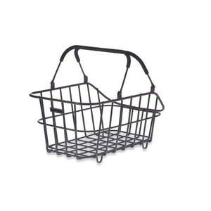Cento Alu Multi System bicycle basket - black
