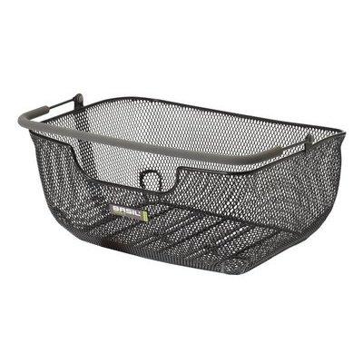 Basil Capri Luxe II Flex  Basket - back - black