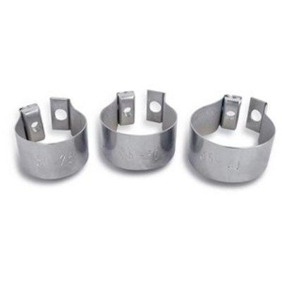 Basil Baseasy II – Edelstahl-Ring – verzinkt - 31-35mm