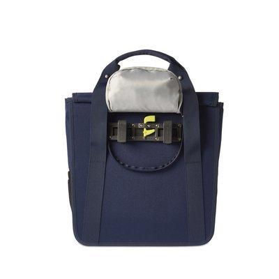 Basil GO Single Bag - shopper - fahrradtasche 18L - blau