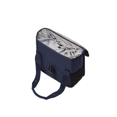 Basil GO Single Bag - shopper - bicycle shopper - 18L - blue