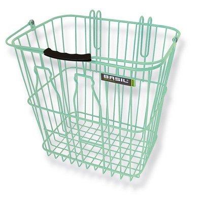 Basil Memories - bicycle basket - green