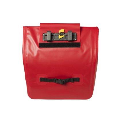 Basil Urban Dry - fietsschopper - 25L - rood