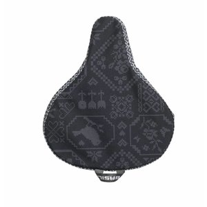 Bohème Saddle Cover - Schwarz