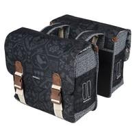 Bohème Double Bag - Zwart