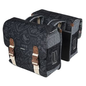 Bohème Double Bag - Black