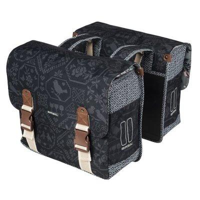 Basil Bohème - double bag - 35L - charcoal