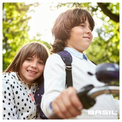 Basil Stardust - Fahrradklingel - 60MM - blau