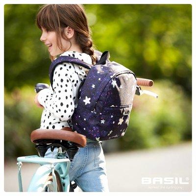 Basil Stardust - fietsrugzak voor kinderen - 8 liter - nightshade