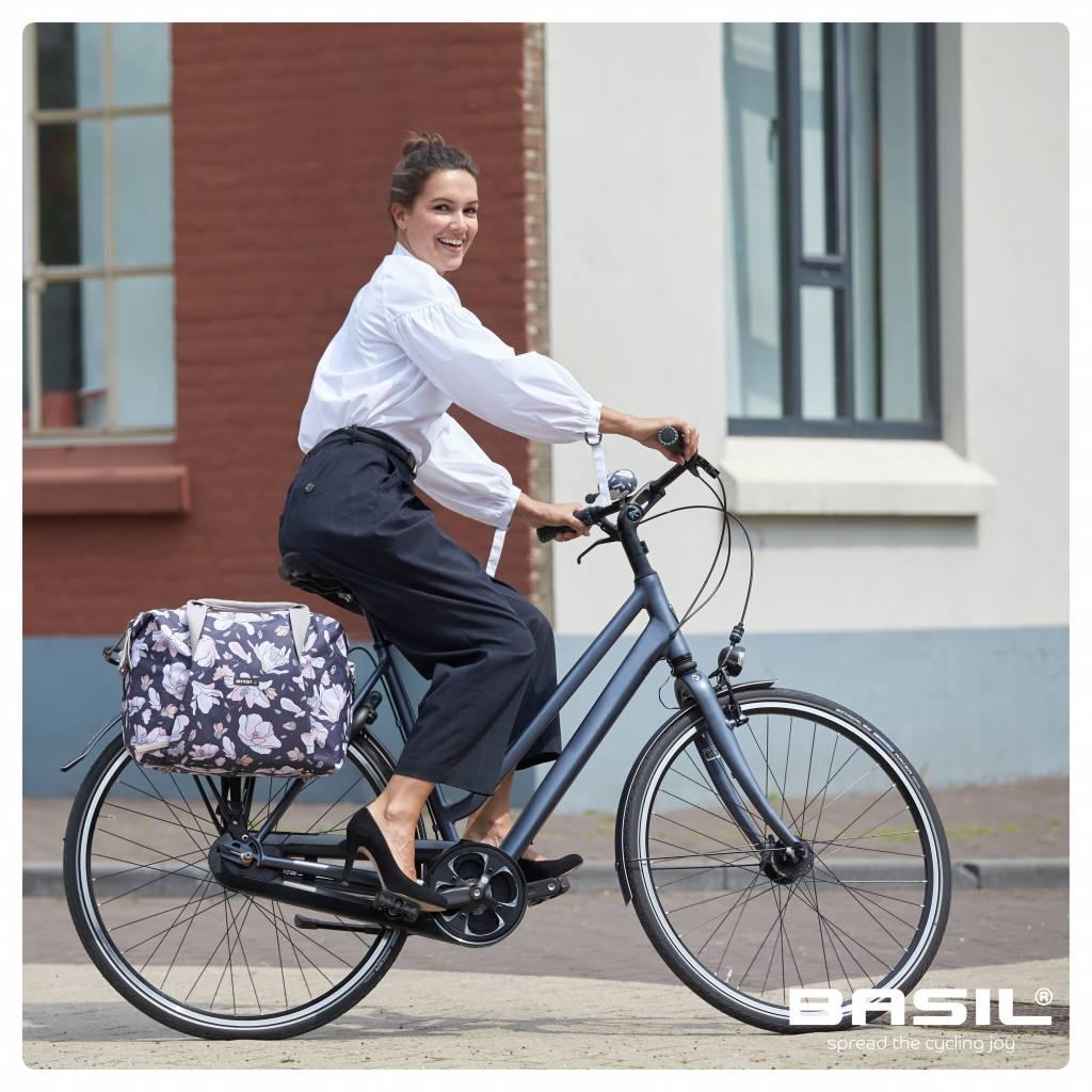 Basil Fahrrad Shopper-Tasche Magnolia pastel powders