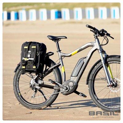 Basil Miles - Fahrradrucksack - 17 Liter - schwarz