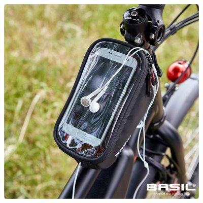Basil Sport Design - framebag - 1 liter - black