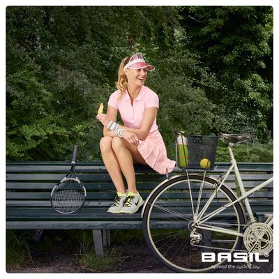 Basil Bold M Multi System - fietsmand - achterop - zwart