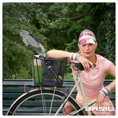 Basil Bold M Multi System - bicycle basket - rear - removable - black