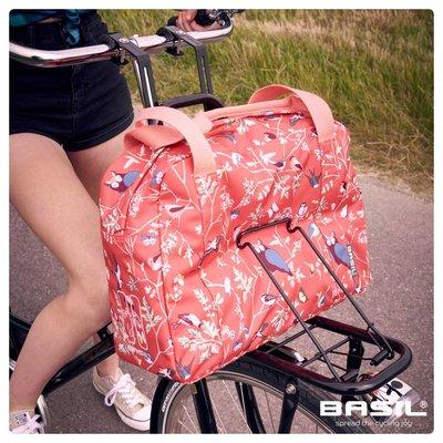 Basil Wanderlust Carry All Bag - fietshandtas - 18L - rood