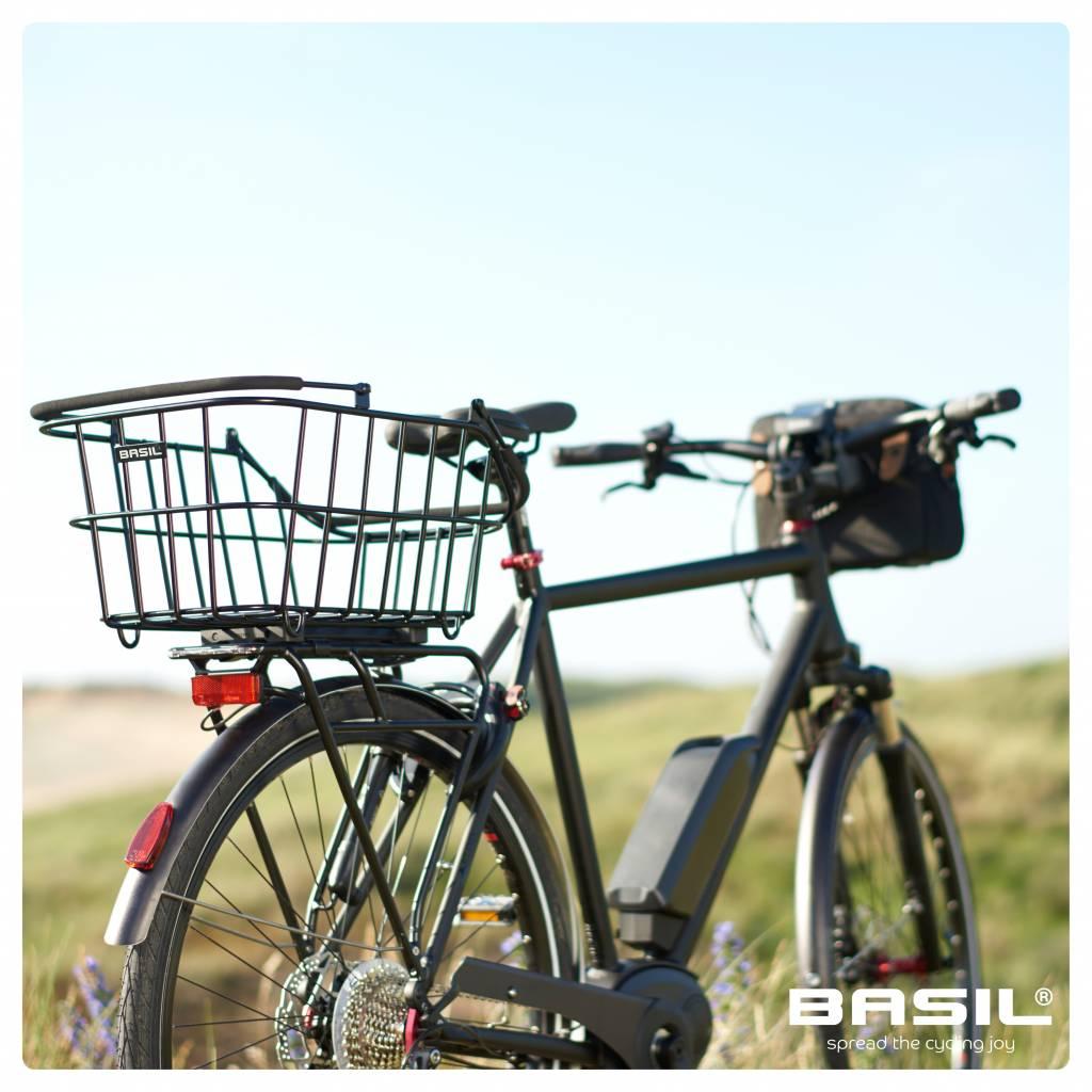 Basil Cento Alu Multi System Fahrradkorb Gepäckträger Abnehmbar Schwarz