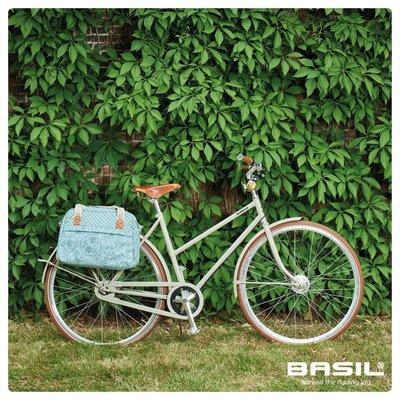 Basil Boheme Carry All - single bike bag - bicycle shoulder bag - 18L - green