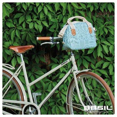 Basil Boheme City Bag - stuurtas - fietsschoudertas - fietshandtas - 7L - groen