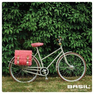 Basil Boheme Saddle Cover - sattelbezug - rot