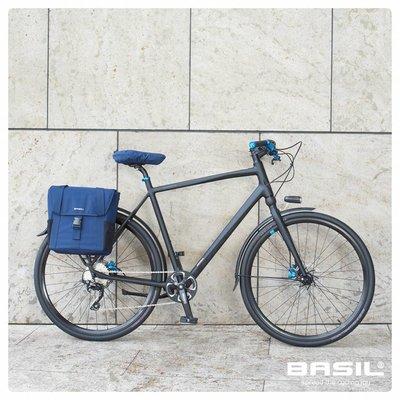Basil GO Saddle Cover - sattelbezug - blau