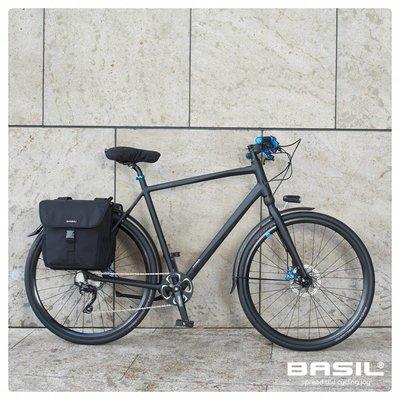 Basil GO - Sattelbezug - schwarz