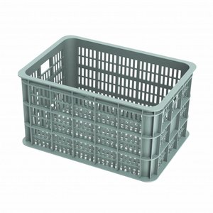 Basil Crate L - bicycle crate -  50L - seagrass