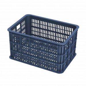 Basil Crate L - bicycle crate -  50L - bluestone