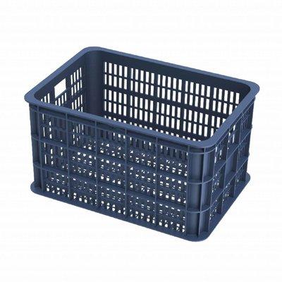 Basil Crate L - Fahrradkiste -  50L - bluestone