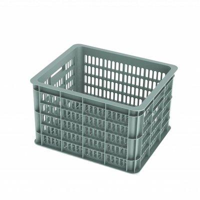 Basil bicycle crate M -  33 liter - green