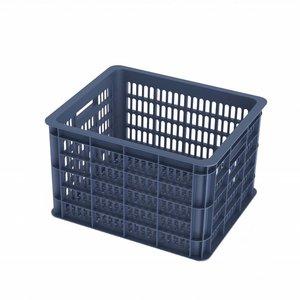 Basil Crate M - bicycle crate -  33L - bluestone