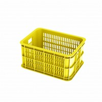 Crate S - Fahrradkasten - Gelb