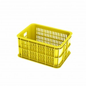 Basil Crate S - bicycle crate -  25L - lemon
