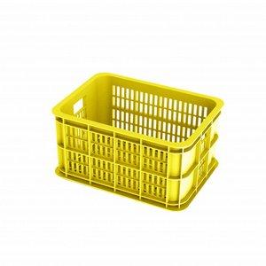 Basil Crate S - Fahrradkiste -  25L - lemon