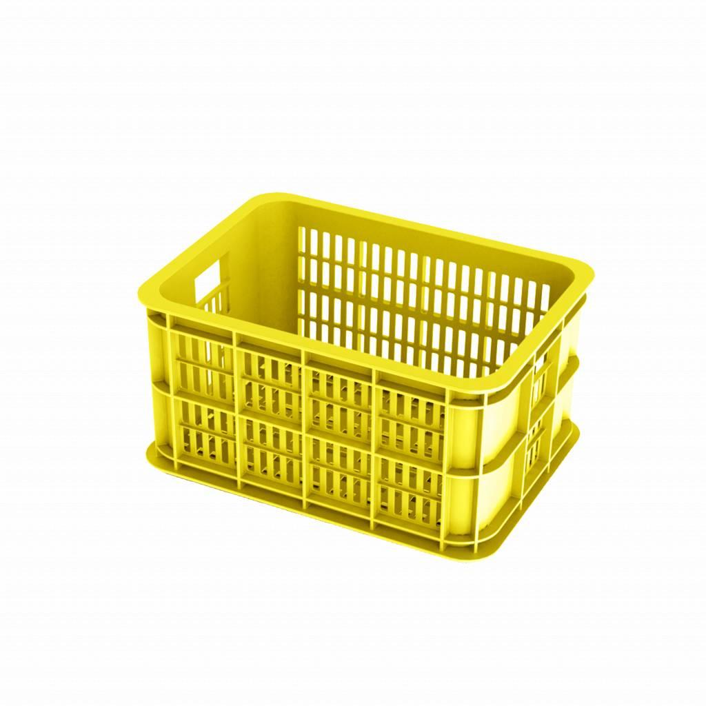 basil crate s bicycle crate 25l lemon basil