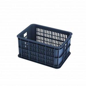 Basil Crate S - Fahrradkiste -  25L - bluestone