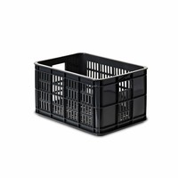 Crate S - Fahrradkiste - Schwarz