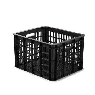 Basil Crate M - bicycle crate - 33L- black