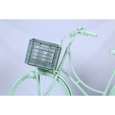 Basil Crate M - bicycle crate -  33L - seagrass