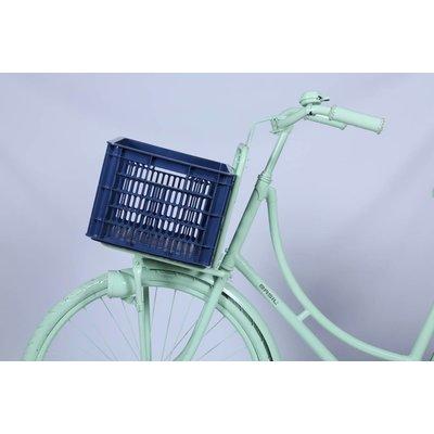 Basil Crate M - Fahrradkiste -  33L - bluestone
